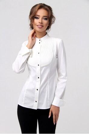 Рубашка белая с манишкой