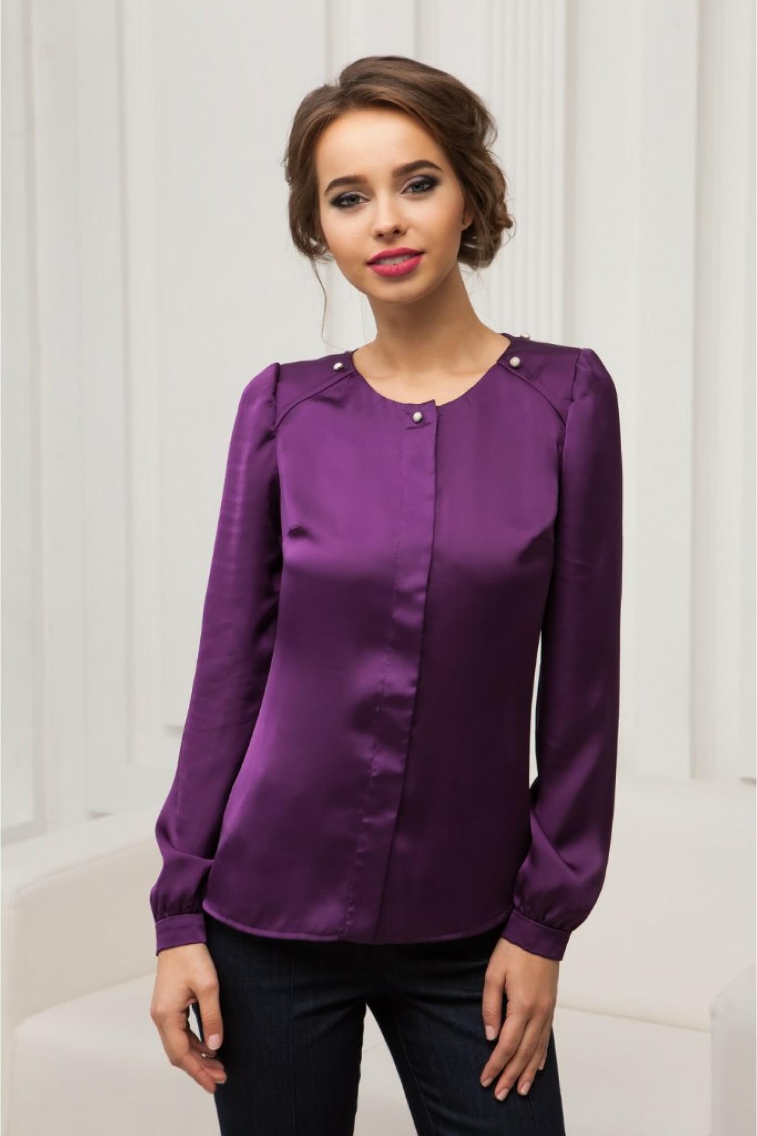 65bb03cc9cb Блузка фиолетовая WN16-Brz купить в Киеве и Украине