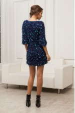 Платье - мохнатик