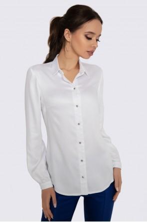Блузка белая классическая