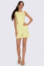 Комбинезон жёлтый с шортами
