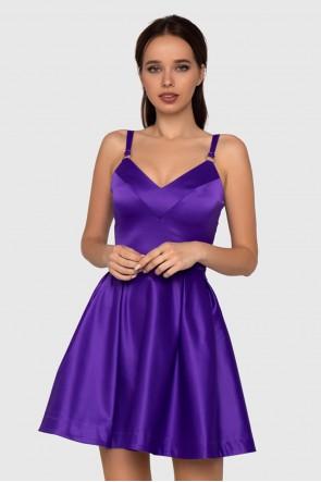 Платье фиолетовое бейби-дол