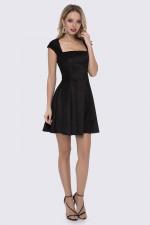 Платье черное беби-долл