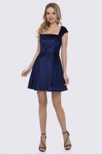 Платье синее беби-долл