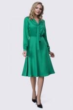 Платье ярко-зеленое