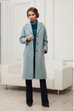 Пальто мятное