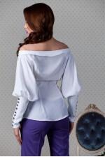 Блузка мокрый шелк