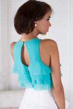 Платье воланчик с шифона